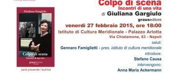 Invito Giuliana Gargiulo - Colpi di scena