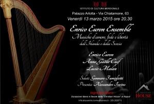 Enrico Euron Ensemble - Musiche d'amore, fede e libertà dall'Irlanda alla Scozia @ Istituto di Cultura Meridionale | Napoli | Campania | Italia