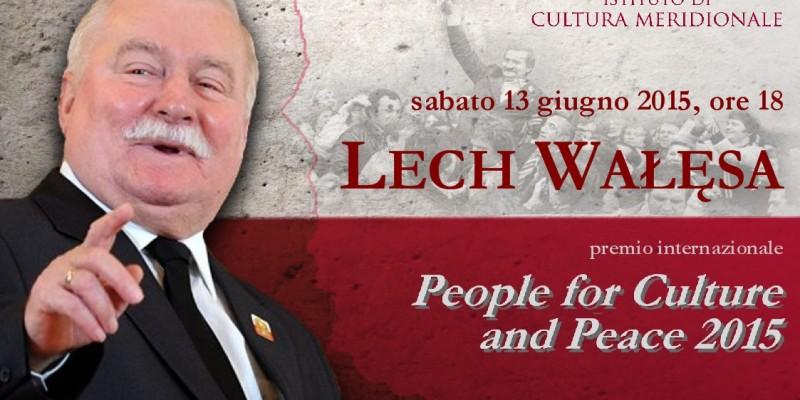 premio a Lech Walesa