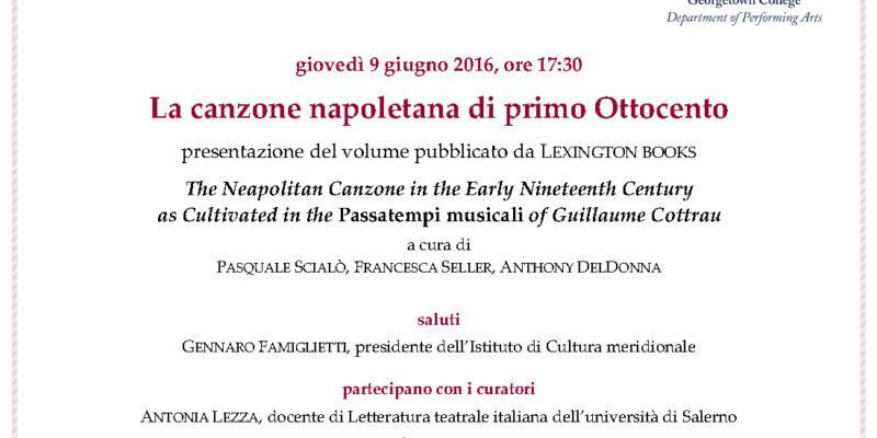 invito canzone napoletana